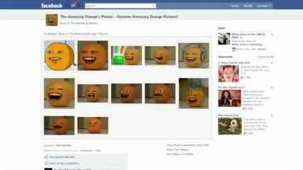 Annoying Orange - Картина конкурс