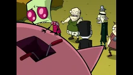 Invader zim 05.1 attack of the сaucer мorons
