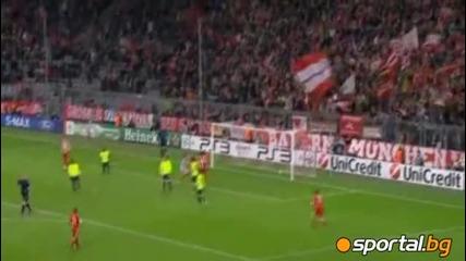 8.12.2010 Байерн (мюнхен) - Базел 3 : 0 Мач от групите на Шампионска Лига