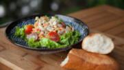 Новокаледонска салата със сурова риба | Джъстин Скофийлд | 24Kitchen