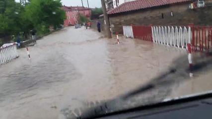 Потоп в село Царева ливада