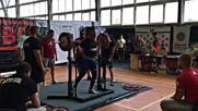 Александър Александров - Картел Спорт - силов трибой - 235кг - 3ти опит клек