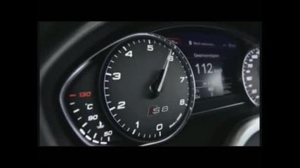 Audi S8 2012 ускорение 80-170 kmh невероятно бързо!!!