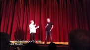 """James Hetfield Pesents """" The Good, The Bad And The Ugly """" Movie At Lark Theatre, 2014"""