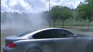 Bmw M6 Burnout .. Замириса ми на гума мммм...