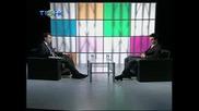 Darin Zanyar at Tishk Tv part (1)