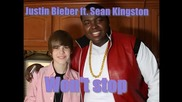 Нова и истинска! Justin Bieber ft. Sean Kingston - Wont stop + Превод!