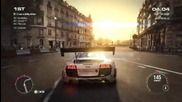 Grid 2 Pc Multiplayer Race Gameplay Tier 4 Full Upgraded Audi R8 Lms #2