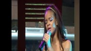 Rihanna - Unfaithful (live at sunrise)