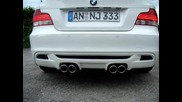Bmw 125i mit M1 Inside Performance Exhaust System