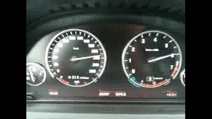 Адско ускорение до 260 km/h - Bmw 760li