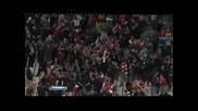 Аарън Рамзи донесе победата на Арсенал в добавеното време срещу Олимпик Марсилия