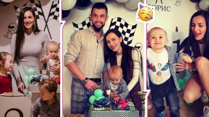 Как лети времето! Синът на Ива Русинова навърши годинка, спретнаха му чудно парти!
