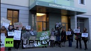 Germany: 'Je Suis Cecil' - Animal rights demonstrate outside Zimbabwean embassy