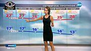 Прогноза за времето (09.09.2016 - сутрешна)