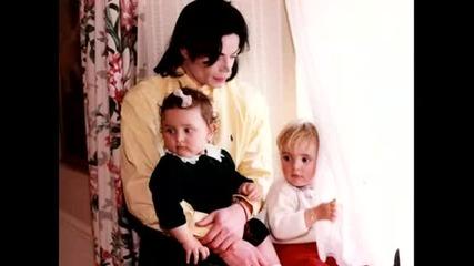 Майкъл Джексън с прекрасната си дъщеря - Парис