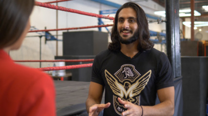 WWE's Mansoor talks about making history in Saudi – Exclusive Interview