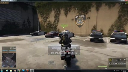 Battlefield Hardline – Beta Gameplay