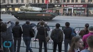 New Russian Tank Debuts During Military Parade Rehearsal