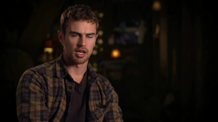 Theo James Talks About His New Role For 'Insurgent'