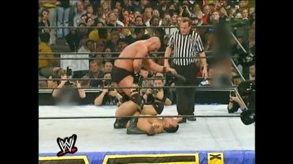 The Rock vs Steve Austin Wrestlemania 17 (part 3)