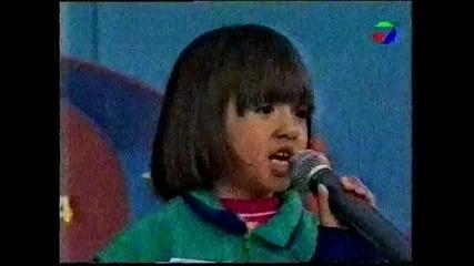 """Ани Хоанг като малка в """" Кой-е-по-по-най """""""