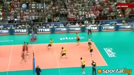 Русия спря Бразилия с 3 2 и спечели Световната лига по Волейбол