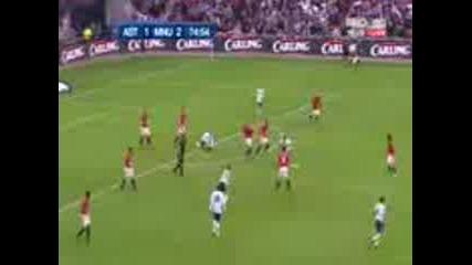 Астън Вила - Манчестър Юнайтед - финал на кърлинг къп - 28.02.2010 - второ полувреме, 2ра част