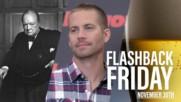 Flashback Friday: November 30th in History