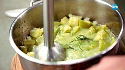 Студена супа от тиквички - Бон Апети (19.07.2018)
