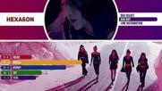 Red Velvet - Bad Boy Line Distribution Color Coded -