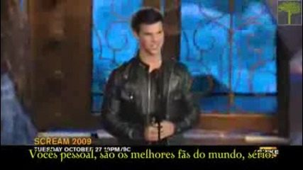 Taylor Lautner no Scream Awads 2009