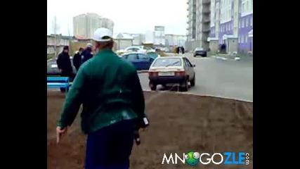 Руски олита в действие - Луда въртелешка