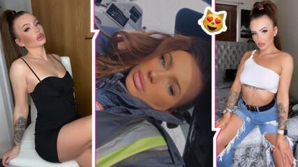 Тя е секси шофьор на автобус в градския транспорт, бивша звезда в OnlyFans и предизвика фурор