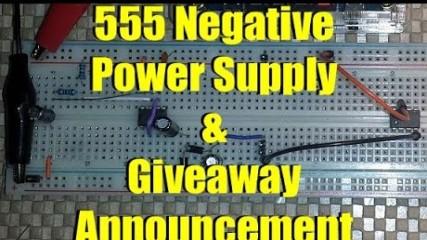 555 Negative Power Supply