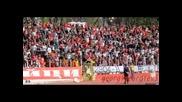 Цска 4:1 Черно море 29.04 - В боя безстрашно да се хвърлим, червената агитка отблизо !