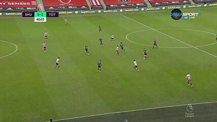Шефилд Юнайтед - Тотнъм Хотспър 0:2 /първо полувреме/