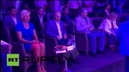 Русия: Путин и Медведев присъстваха на 6-тото годишно интернационално състезание по Самбо в Сочи