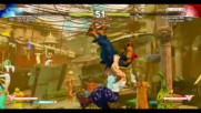 Street Fighter V Akuma vs Guile