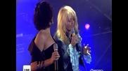 Kareen Antonn & Bonnie Tyler - Si demain & Si Tout sarrete (live @ m6 2004)