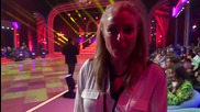 Dancing Stars - Хилда Казасян подкрепя Албена и Петьо (03.04.2014г.)
