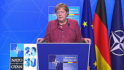 Belgium: Merkel advocates deterrence and dialogue with China and Russia after NATO summit