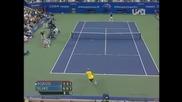 Andre Agassi vs James Blake - Us Open 2005