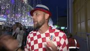 Russia: Overjoyed French, Croatians crowds Moscow's Nikolskaya street France's WC victory