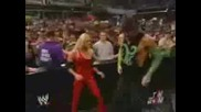 Wwe Trish And Jeff Vs Victoria And Stevie R