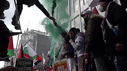 UK: Thousands join pro-Palestinian protest in London amid rising conflict