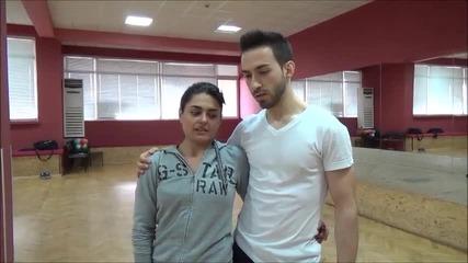 Dancing Stars - Елена и Дидо за подготовката на предстоящия им танц
