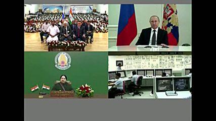 India: Putin and Modi dedicate Kudankulam Nuclear Power Plant's 1st unit to country