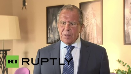 Russia: Lavrov sees 'no reason' to reject cooperation with Syrian govt against IS