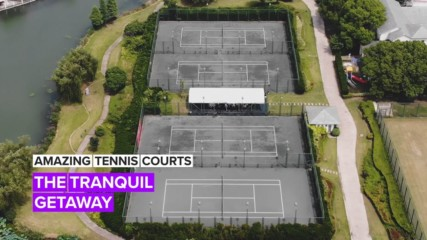 Amazing Tennis Courts: The Most Beautiful Court in China
